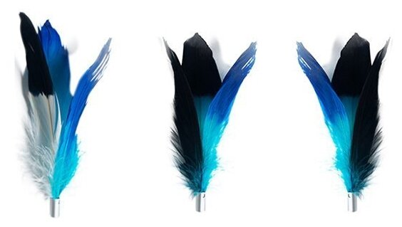 Дразнилка для кошек Pidan Набор Сменные перья для удочки-дразнилки 3 штуки