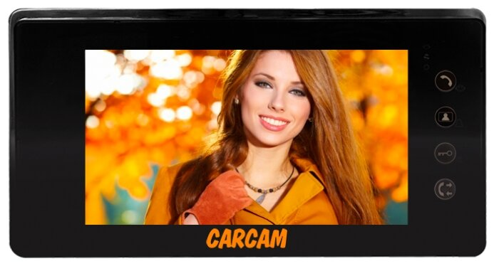 Домофон (переговорное устройство) CARCAM DW-718SD черный (домофон)
