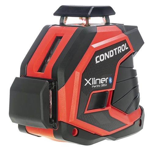 Лазерный уровень самовыравнивающийся Condtrol XLiner Pento 360 (1-2-303) черный
