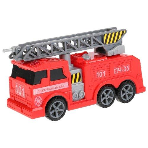 Пожарный автомобиль ТЕХНОПАРК C403-R 17 см красный автомобиль технопарк гонки цвет в ассортименте ebs868 r