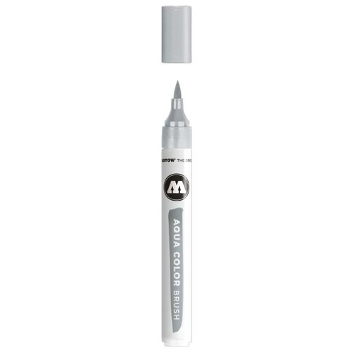 Купить Маркер на водной основе Molotow AQUA COLOR BRUSH #032 cool grey 3 727232, Фломастеры и маркеры