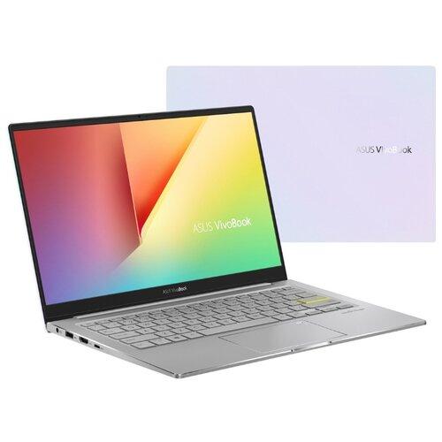 Ноутбук ASUS VivoBook S13 S333JQ-EG015T (90NB0QS3-M00230), белый/серебристый ноутбук asus vivobook 15 x512fa bq458t 90nb0kr3 m06430 серый