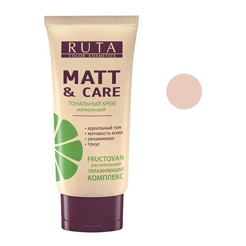 RUTA Тональный крем Matt & Care, 30 мл, оттенок: 03 розово-бежевый