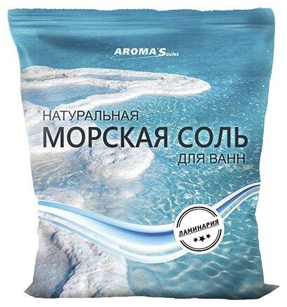 AROMA'Saules Натуральная морская соль для ванн Ламинария,