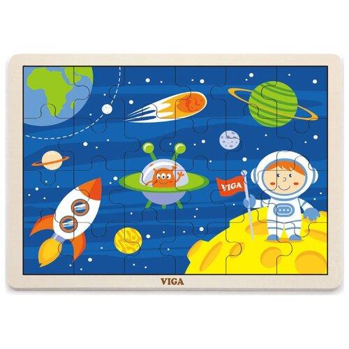 Рамка-вкладыш Viga Путешествие (51461), 24 дет.