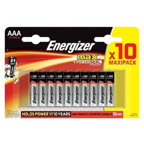 Фото - Батарейка Energizer Max AAA/LR03, 10 шт. батарейка panasonic evolta aaa lr03 4 шт