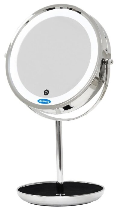 Зеркало косметическое настольное Belberg BZ-05 с подсветкой