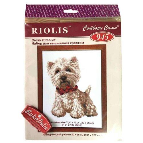 Купить Риолис Набор для вышивания Вестик 20 х 26 см (945), Наборы для вышивания