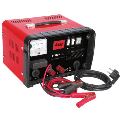 Пуско-зарядное устройство Fubag Force 140 черный/красный пуско зарядное устройство force 320