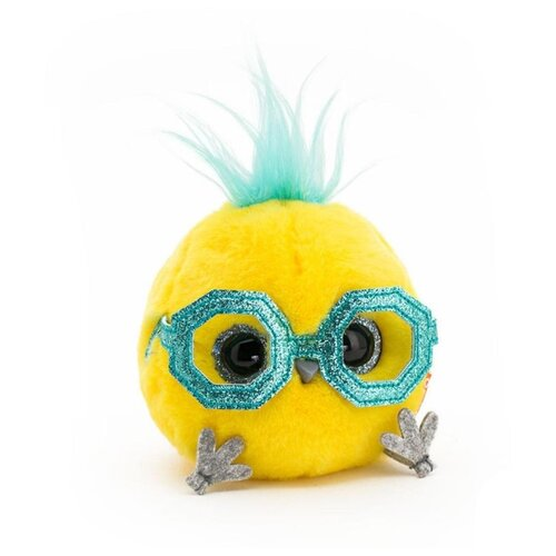 Купить Orange Toys Мягкая игрушка КТОтик в забавных очках , желтый, 13 см, Мягкие игрушки