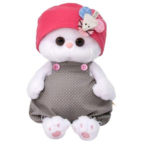 Купить Мягкая игрушка Basik&Co Кошка Ли-Ли baby в шапочке с мышкой 20 см, Мягкие игрушки