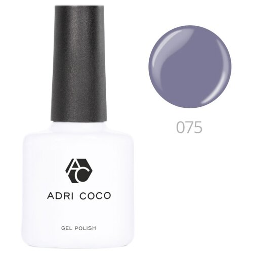 Гель-лак для ногтей ADRICOCO Gel Polish, 8 мл, 075 дымчато-синий