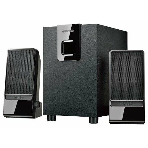 Компьютерная акустика Microlab M-100 черный microlab m 300bt черный