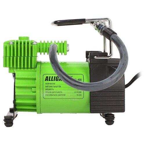Автомобильный компрессор Alligator AL-400 зеленый