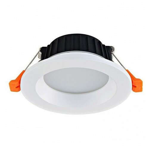 Встраиваемый светильник Donolux DL18891/9W White R Dim встраиваемый светильник donolux ritm dl18891 24w white r dim
