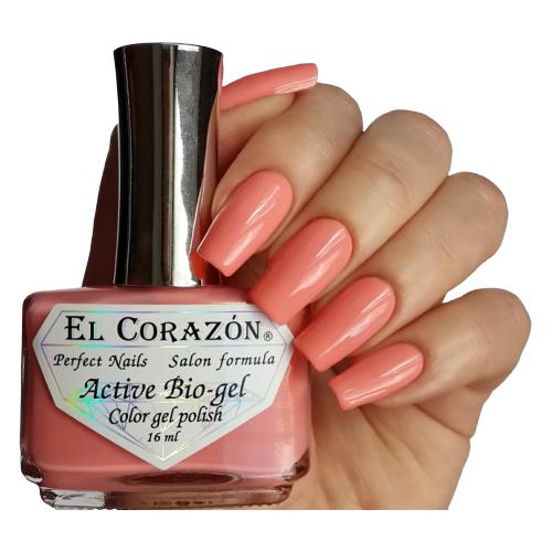 Гель El Corazon Active Bio-gel polish Cream, 16 мл, 423/285 chi luxury black seed oil curl defining cream gel