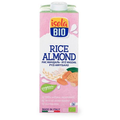 Рисовый напиток Isola Bio Rice с миндалём без глютена 1 л