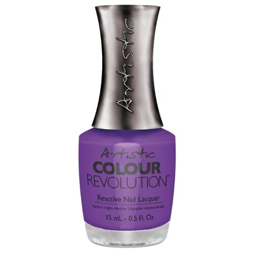 Лак Artistic Nail Design Color Revolution Nail Lacquer, 15 мл, оттенок PIN-UP PURPLE лак artistic nail design color revolution nail lacquer 15 мл оттенок cheeky