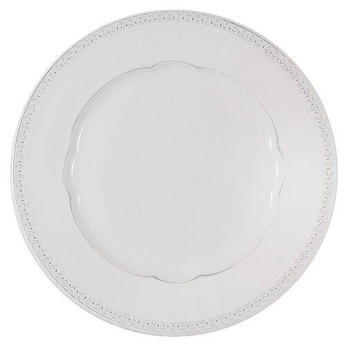 Тарелка обеденная Matceramica Augusta (белый) без инд. упаковки, керамика, 27 см (MC-F566200005D0053)