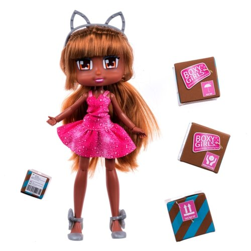 Кукла 1 TOY Boxy Girls Mila, 20 см, Т16629