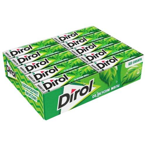 Жевательная резинка Dirol Cadbury Мята без сахара 30 шт