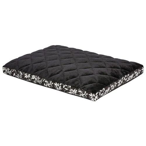 Лежак для собак и кошек Midwest Sofia в клетку 91х58 см черный