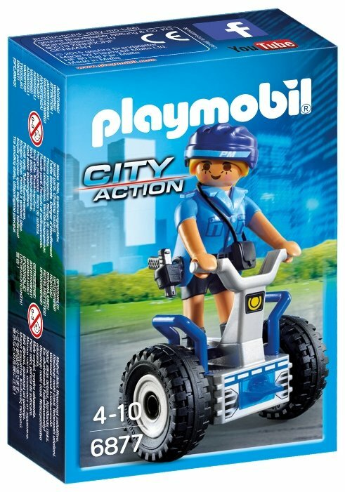 Конструктор Playmobil City Action 6877 Полицейский на сегвее