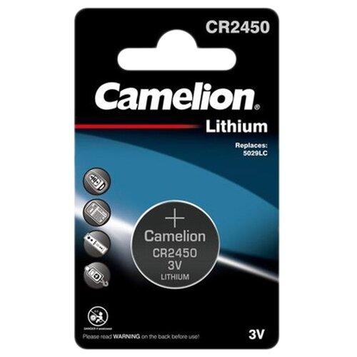 Фото - Батарейка Camelion CR2450, 1 шт. батарейка camelion lr23a 1 шт