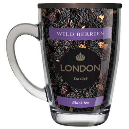 цена на Чай черный London tea club Wild berries подарочный набор, 70 г