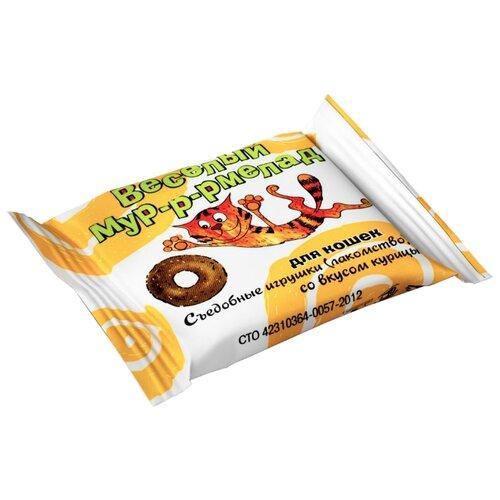 Лакомство для кошек VEDA Веселый мур-р-рмелад со вкусом курицы, 6 г