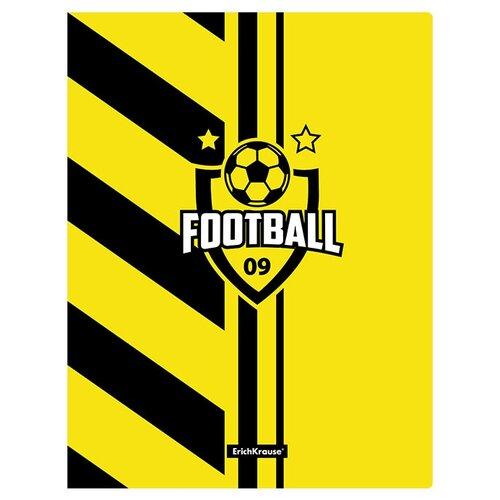 Фото - ErichKrause Папка файловая с 20 карманами Football time A4, 4 штуки желтый/черный erichkrause папка файловая с 40 карманами на спирали metallic а4 разноцветный