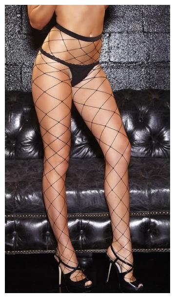 Колготки Hustler Diamond Net Pantyhose HH116
