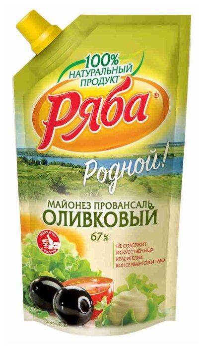 Майонез Ряба Оливковый 67%