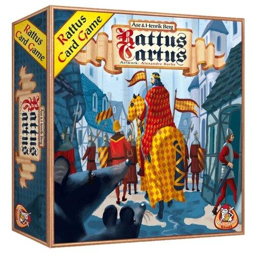 Фото - Настольная игра White Goblin Games Rattus Cartus настольная игра радуга забавные