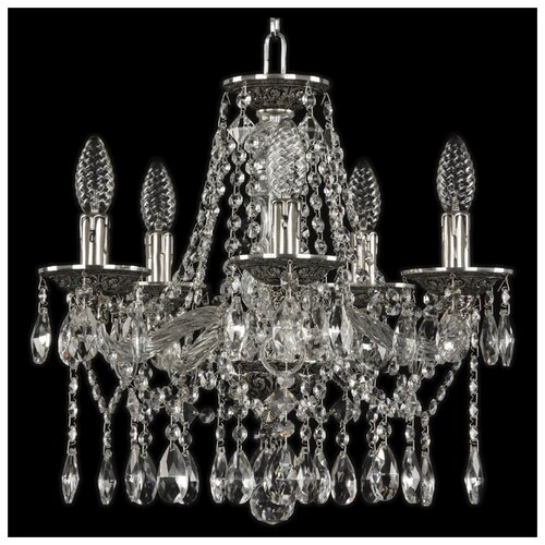 Люстра Bohemia Ivele Crystal 1613 16113/5/141 NB, E14, 200 Вт люстра bohemia ivele crystal 1771 1771 12 220 b nb e14 480 вт