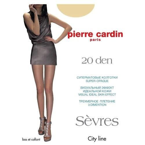 Фото - Колготки Pierre Cardin Sevres, 20 den, размер IV-L, antilope (бежевый) колготки 50 den pierre cardin marseille coffee 2 мл