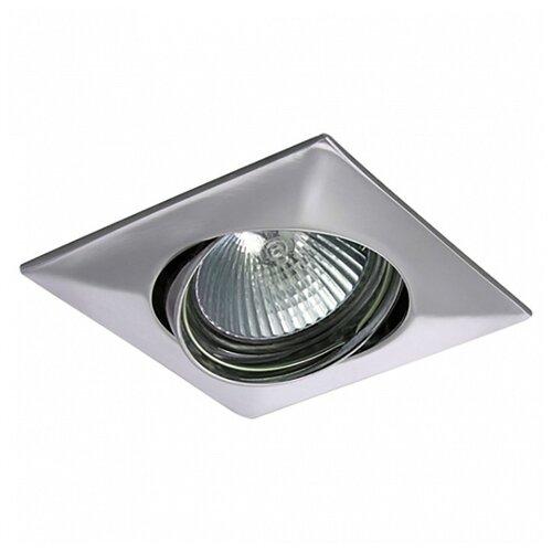 Встраиваемый светильник Lightstar Lega QUA 011034 спот lightstar ottico qua 214429