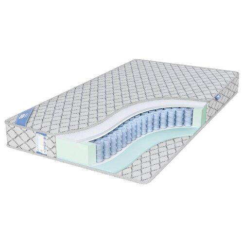 Матрас Промтекс-Ориент EcoSoft Стандарт Струтто 140x200 пружинный серебристый