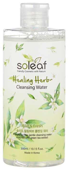 Soleaf очищающая вода с целебными травами