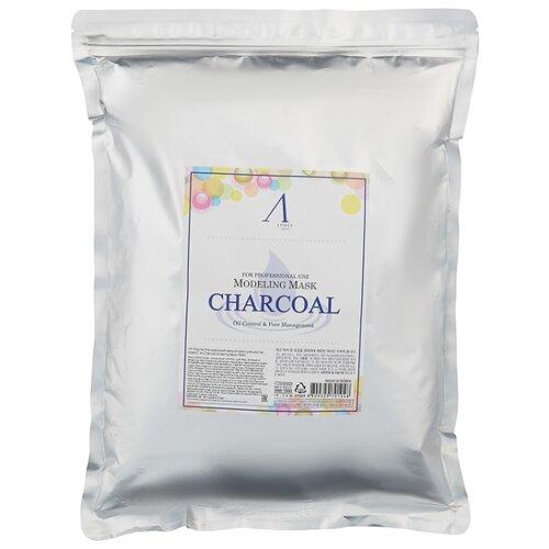 Anskin маска альгинатная Charcoal для жирной кожи с расширенными порами, 1000 г альгинатная маска charcoal