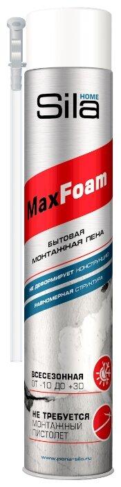 Монтажная пена Sila Home Max Foam 750 мл всесезонная