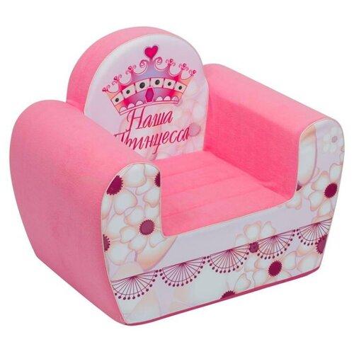 Классическое кресло PAREMO детское PCR317 размер: 54х38 см, обивка: ткань, цвет: Инста-малыш Наша Принцесса paremo игровое кресло paremo инста малыш принцесса мия