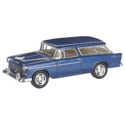 Купить Детская инерционная металлическая машинка с открывающимися дверями, модель Chevrolet Nomad hardtop, синий, Serinity Toys, Машинки и техника