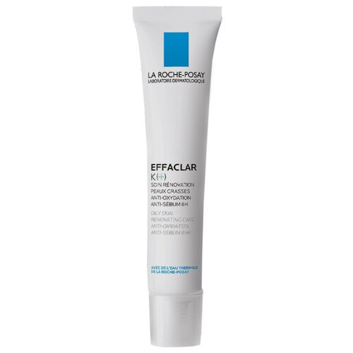 La Roche-Posay Корректирующая эмульсия для жирной кожи EFFACLAR K(+), 40 мл la roche posay effaclar крем h увлажняющий успокаивающий 40 мл