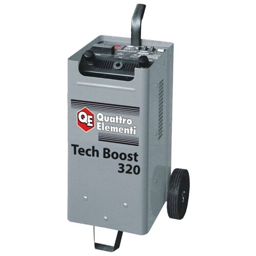 Пуско-зарядное устройство Quattro Elementi Tech Boost 320 (771-442) серый пуско зарядноеустройствоquattro