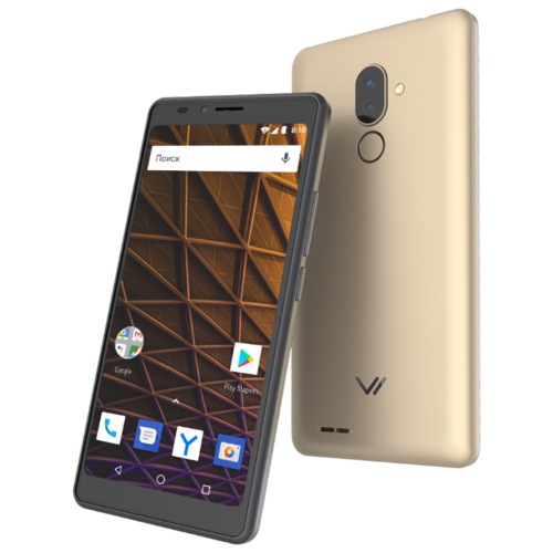 Смартфон VERTEX Impress Pluto золотой смартфон
