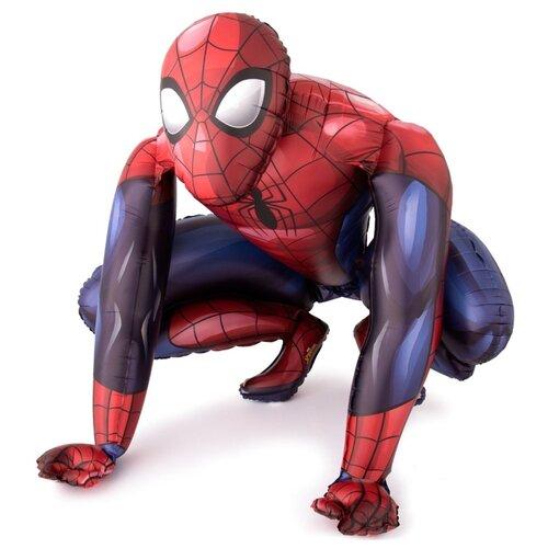 Воздушный шар Anagram Человек-паук 91 см синий/красный