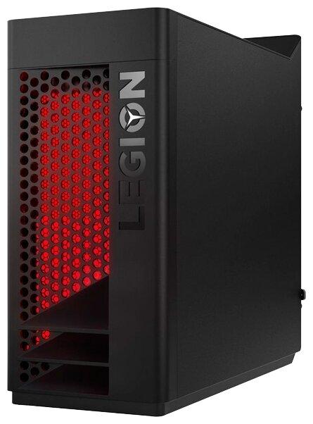 Настольный компьютер Lenovo Legion T530-28ICB (90JL007BRS) Mini-Tower/Intel Core i3-8100/8 ГБ/128 ГБ SSD/1024 ГБ HDD/NVIDIA GeForce GTX 1050/DOS