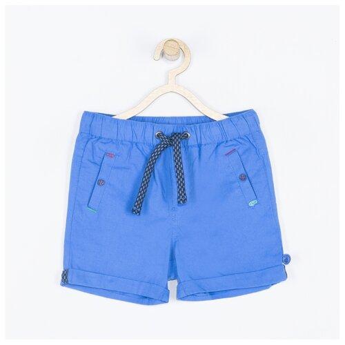Шорты COCCODRILLO Best little bro W19119501BES размер 74, голубой шорты coccodrillo coccodrillo mp002xb00bxq