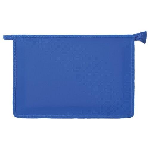 Купить Пифагор Папка для тетрадей А4, молния сверху синий, Файлы и папки